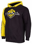 Кофта с капюшоном / BACKCOUNTRY EDITION HOODIE Black - Yellow