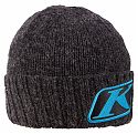 Шапка / CANYON BEANIE Charcoal - Vivid Blue